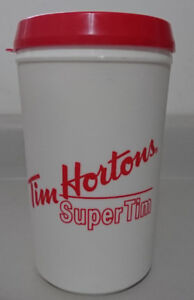 Vintage Rare Aladdin Tim Hortons Super Tim Insulated Travel Mug