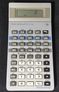 Vintage Texas Instruments TI-56 Scientific Calculator -