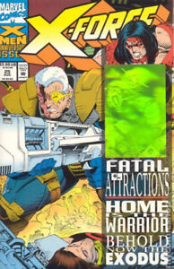 [NM-MT] X-FORCE #25 (HOLOGRAM ON COVER) AUGUST,1993 (B&B)