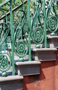 Restauration de fer forgé, escaliers et balcons. LFFS