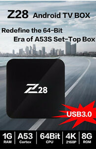 Z28 Android 7.1 RK3328 TV BOX WITH EXODUS+PHOENIX RKMC