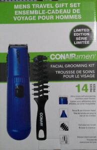 Conair Men's Beard and Facial Groomer Trimmer DeluxeManicure Kit