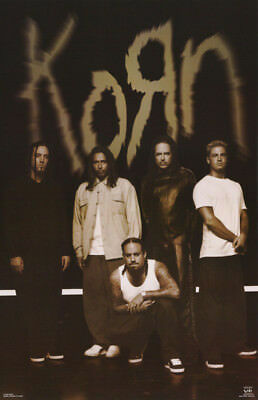 LOT OF 2 POSTERS : MUSIC: KORN -  HANGOUT     FREE SHIPPING !!    #6202   RC12 G