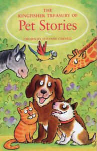 The Kingfisher Treasury of Pet Stories Book Collection for KIds