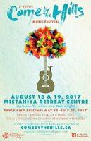 Come By The Hills Music Festival