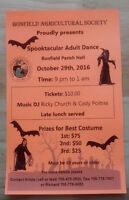 Adult Halloween Dance