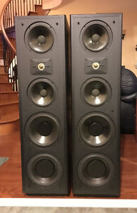Huge, 5 Driver 3-Way Tower Speakers from Polk Audio	Monitor 11T