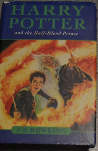 Harry Potter and the Half Blood Prince by J.K Rowling Hard Copy