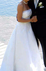 Magnifique robe de mariée grandeur environ 6