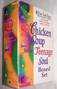 Chicken Soup for the Teenage Soul I, II, II 3 Books in Box Set London Ontario image 3