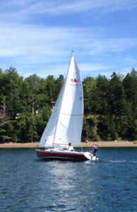 Bluejacket 23 Sailboat