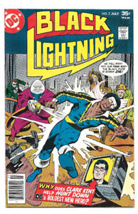 Black Lightning #3 VF DC Comics 1977, Tobias Whale