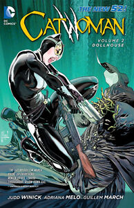 Catwoman Vol. 2-Dollhouse-Like new graphic novel