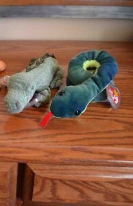 Ty Beanie Babies *Retired & Rare* - Set of 10 Reptiles Sarnia Sarnia Area image 3