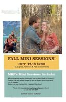 Photography Fall Mini Shoot!