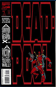 DEADPOOL: Circle of Chase 1, 2, 3, 4.    Marvel 1993