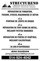 Reparation générale de structure