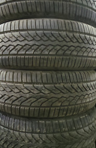 18 inch tires —4 of them—285-60-18(85-99 PERCENT TREAD) They are