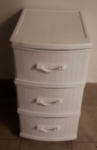 3 Drawer Rolling Storage Organization Unit