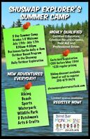 Outdoor Shuswap Summer Camp!!! Grades 1-5