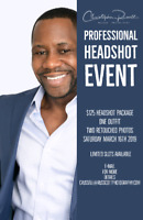 $125 Professional Headshots One Day Only