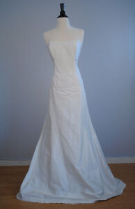 New With Tags - Nicole Miller Raw Silk Gown - PRICE REDUCED