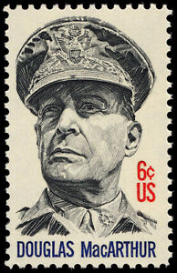 1971 GENERAL DOUGLAS MacARTHUR 6 Cent First Day Cover Kitchener / Waterloo Kitchener Area image 1
