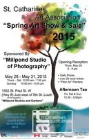 St Catharines Art Association Members show and sale
