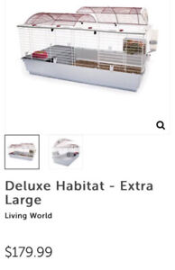 Cage living world XL à petits animaux (rongeurs)