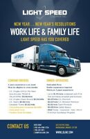 Light Speed - Work Life & Family Life...We've Got You Covered