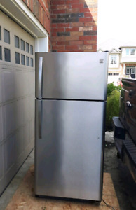 Kenmore Stainless Steel Refrigerator, free delivery