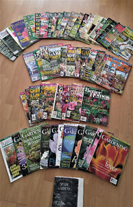 58 OLD GARDENING & DECK AND PATIO MAGAZINES