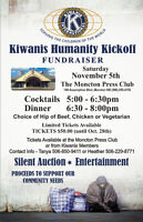 Fundraiser event - Kiwanis Club of Moncton