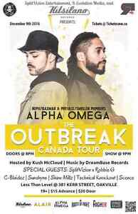 Prevail from Swollen Members & Neph Alpha Omega Tickets  Oakville / Halton Region Toronto (GTA) image 1