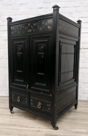 Ebonised Cabinet (DELIVERY AVAILABLE)