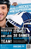 Fall/ Ice Hockey Registration still open