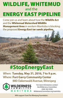 WildLife, Whitemud and the Energy East Pipeline