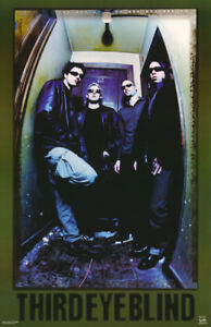 POSTER :MUSIC: THIRD EYE BLIND  - ALL 4 POSED  -  FREE SHIPPING !   #6176 RC14 C