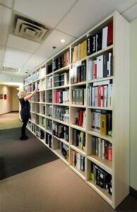 Bibliothèque SINETICA en érable démontable