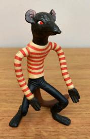 Fantastic Mr Fox rat figure