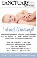 Infant Massage Workshop