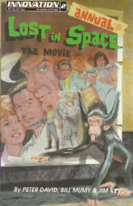 1993 Lost In Space Annual #2 NM TV Robinson Family David Innovat