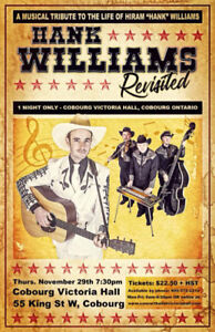"""""""Hank Williams Revisited""""."""