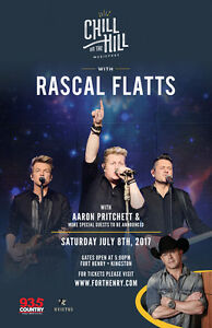 RASCAL FLATTS - KINGSTON - JULY 8