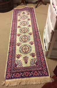 Gorgeous antique silk runner   125.00 obo  Smoke & pet free home