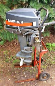Mariner Yamaha 28hp Two Stroke Standard Shaft Outboard Boat Eng