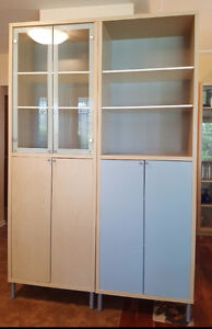 2 Matching IKEA Magister High Cabinets