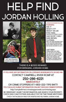 MISSING TEEN JORDAN HOLLING