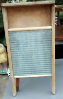 Two old WASHBOARDS.  Would look great on the wall of the laundry