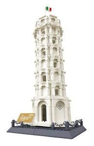 LA TOUR DE PISE D'ITALIE - 1392 BLOCS - 100% COMPATIBLE LEGO